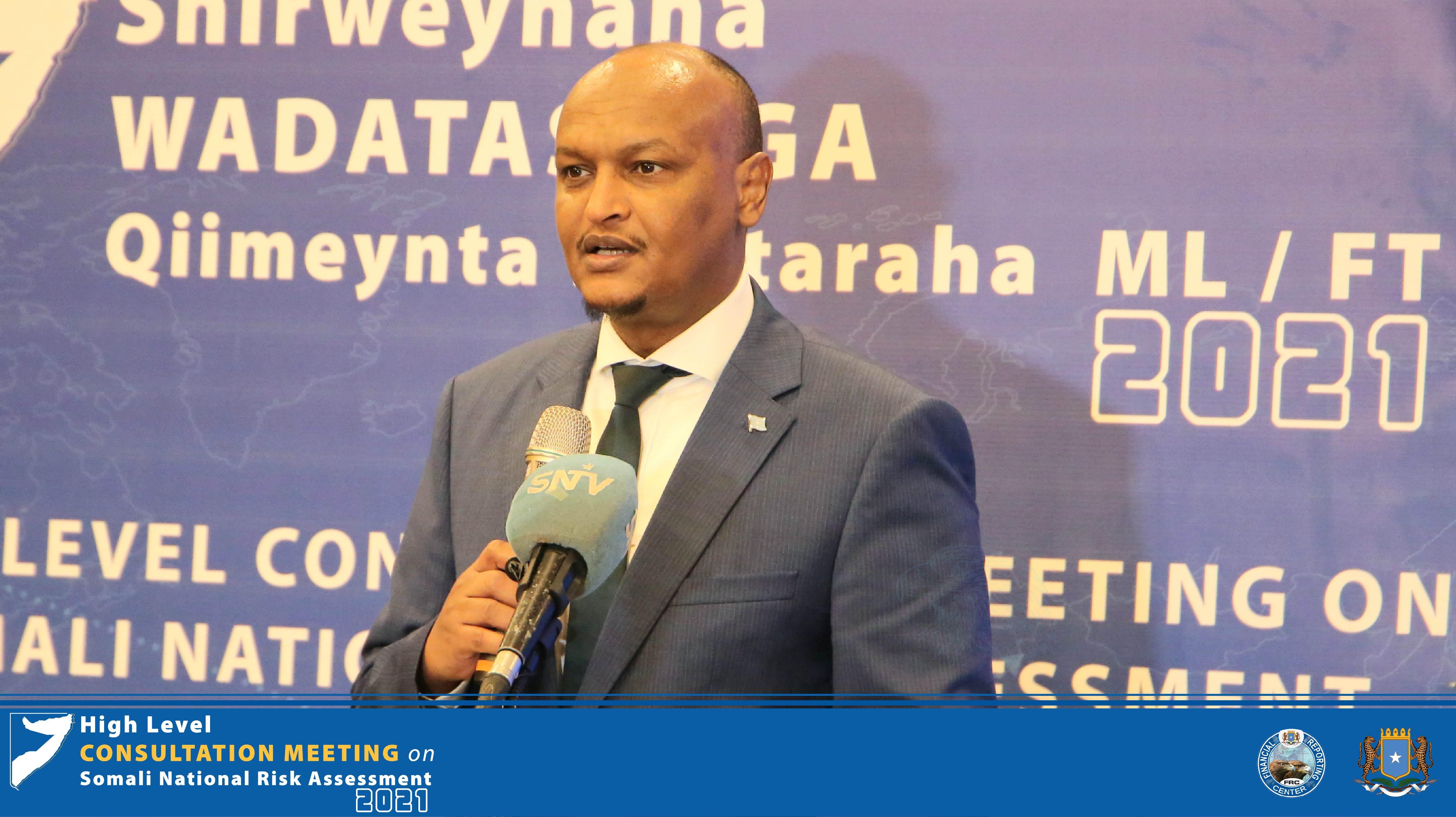 Somalia Govt Clamping Down Alshabaab & IS Financiers- DPM Guled