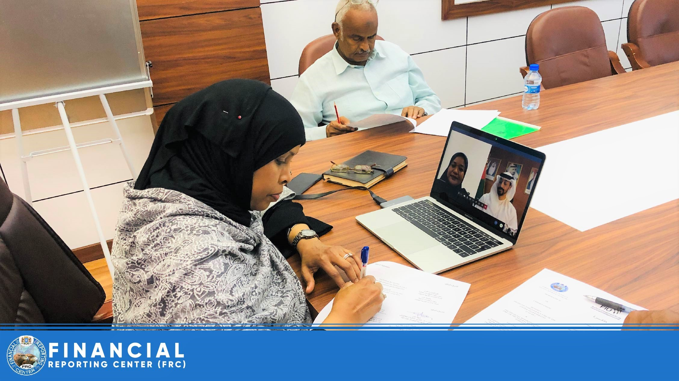 Somalia Financial Reporting Center (FRC) has signed MOU with United Arab Emirates – FIU