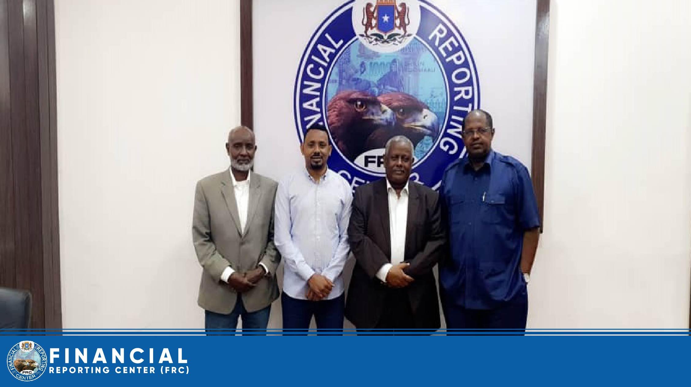 Bushra Bank, CEO, Mr. Suleiman Abdella has paid visit to FRC